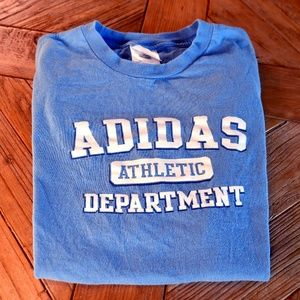 Sky Blue Adidas Athletic T-Shirt